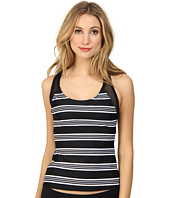 DKNY - Stripeology Mesh Racer Back Tankini Top