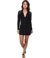 DKNY - Match Maker Scuba Hoodie Cover-Up