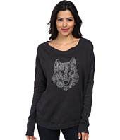Chaser - Wolf L/S Dolman Pullover