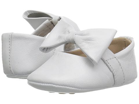 Elephantito Baby Ballerina w/ Bow (Infant/Toddler) - White