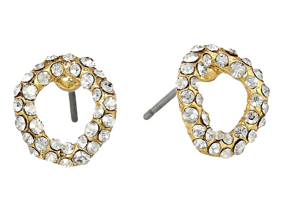Alexis Bittar Chain Link Stud Gold Earring
