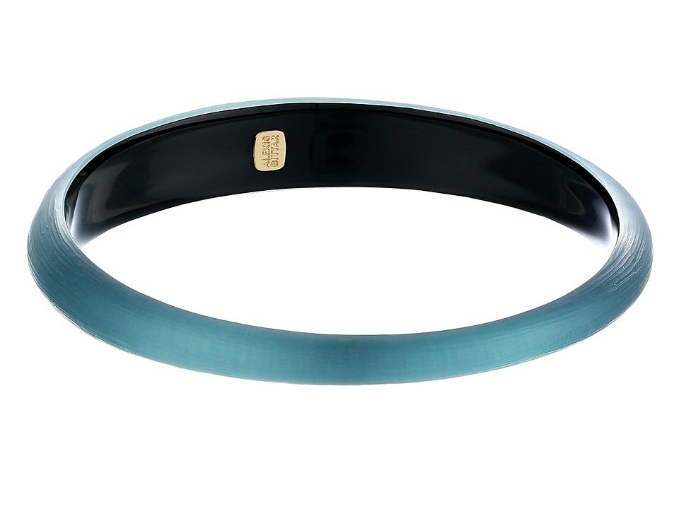 Alexis Bittar - Skinny Tapered Bangle (Teal Blue) Bracelet