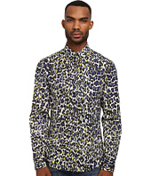 Just Cavalli - Painted Leopard Print Shirt