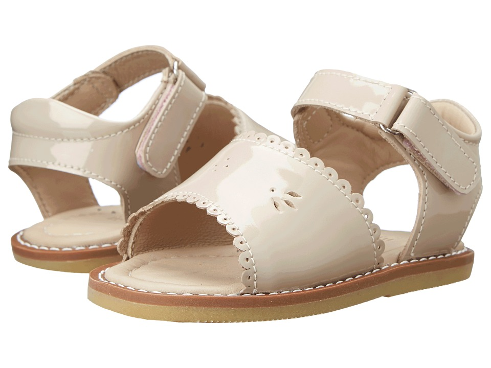 Elephantito Classic Sandal w/Scallop Toddler Dusty Pink Girls Shoes