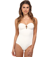 Vince Camuto - Crescent Resort Bandeau Maillot w/ Removable Soft Cups & Strap