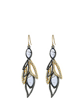 Alexis Bittar - Dangling Wire w/ Custome Marquis Shape Labradorite Doublets