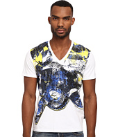 Just Cavalli - Painted Snake Crew Neck Tee