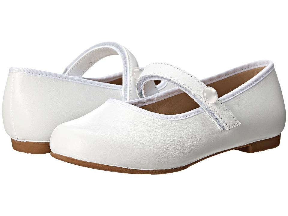 Elephantito Princess Flat Toddler/Little Kid/Big Kid White Girls Shoes