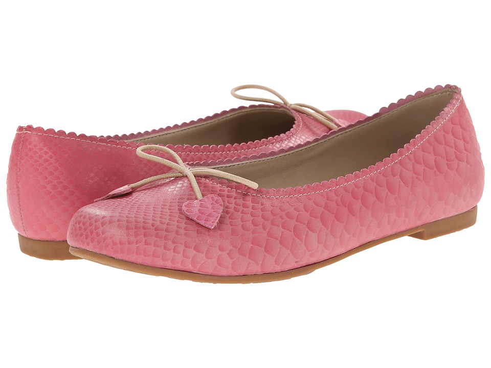Elephantito Scalloped Ballerina Toddler/Little Kid/Big Kid Pink Girls Shoes