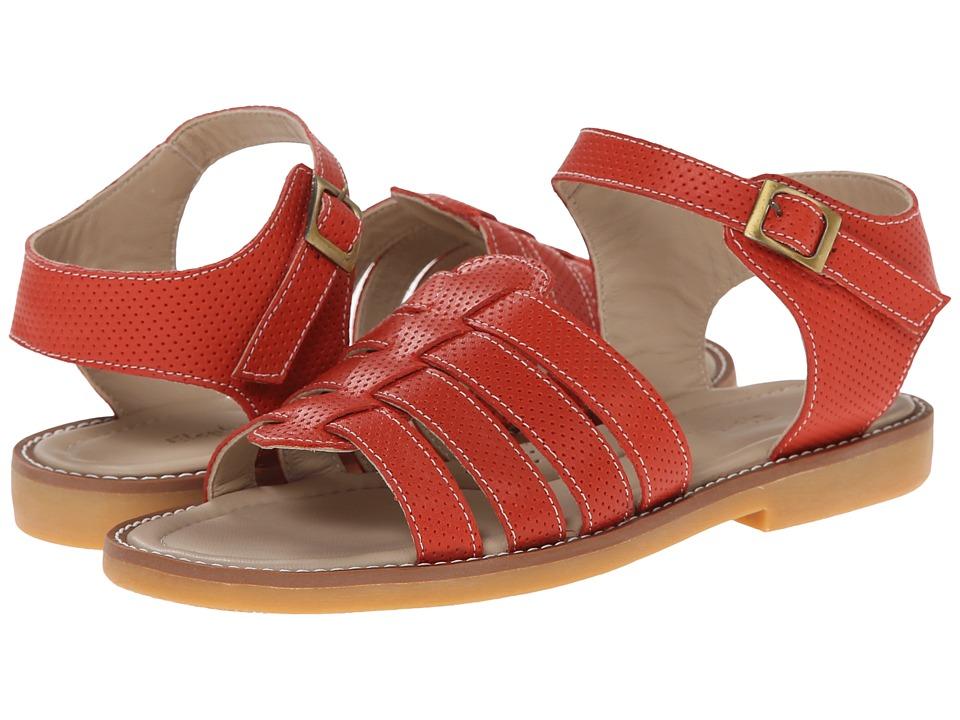 Elephantito Nantucket Sandal Toddler/Little Kid/Big Kid Ferrari Red Girls Shoes