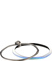 Alexis Bittar - Small Liquid Metal Paired Bangle