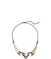 Alexis Bittar - Cubist Baguette Cluster Small Bib Necklace