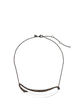 Alexis Bittar - Cubist Encrusted Elongated Link Necklace