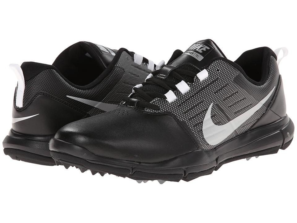 Nike Golf Explorer SL (Black/Cool Grey/Metallic Silver) Men