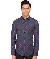 Armani Jeans - Dot Print L/S Woven