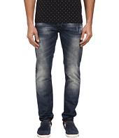 Armani Jeans - Slim Fit Floral Pocket Jean in Mid-Tone