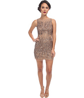 Adrianna Papell - Short Beaded Sleeveless Cocktail