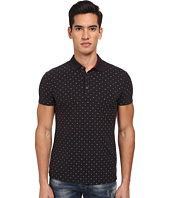 Armani Jeans - All-Over Micro Printed Eagle Polo