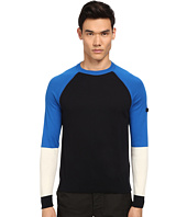 Armani Jeans - Color Block Crew Neck Sweater