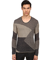 Armani Jeans - Linen Scoop Neck Sweater