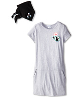 Little Marc Jacobs - Fleece Dress with Pockets and Bandana (Big Kid)