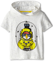 Little Marc Jacobs - S/S Hooded Tee with Seagull Character (Toddle/Little Kid)