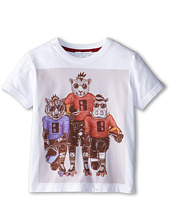 Little Marc Jacobs - S/S Tee with University Graphics (Little Kid/Big Kid)