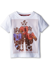 Little Marc Jacobs - S/S Tee with University Graphics (Toddler/Little Kid)