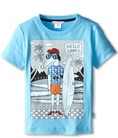Little Marc Jacobs - Alligator Surf Board Tee with Shirt (Little Kid/Big Kid)