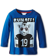 Little Marc Jacobs - L/S Tee with University Graphic (Toddler/Little Kid)