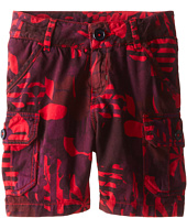 Little Marc Jacobs - Printed Cargo Shorts (Toddler/Little Kid)