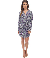 Rebecca Taylor - Long Sleeve Blossom Print Shirt Dress