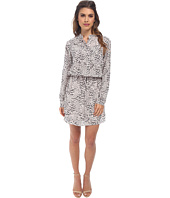 Rebecca Taylor - Long Sleeve Leo Shirt Dress