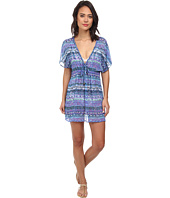 Badgley Mischka - Adia Braided Tunic Cover-Up