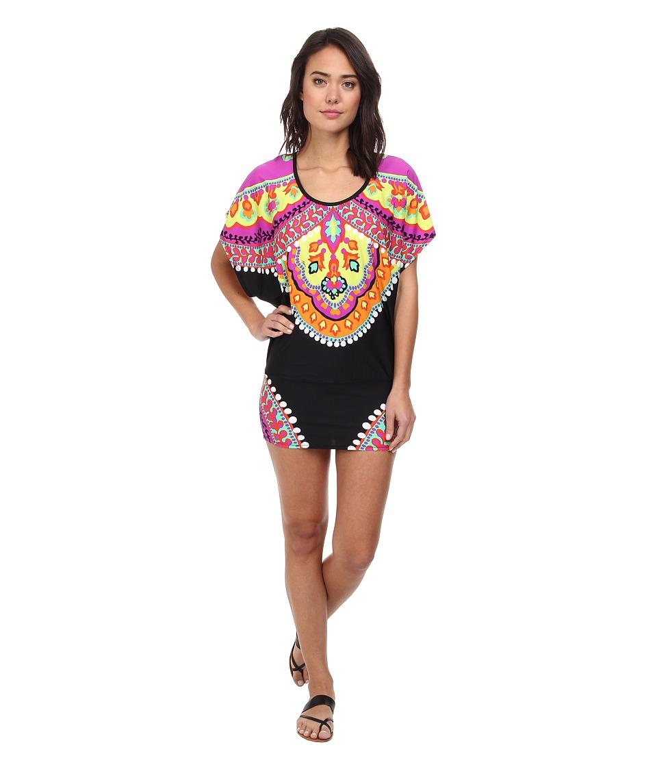Image of Trina Turk Nuevo Sol Covers Tunic Cover-Up (Multi) Women's Swimwear