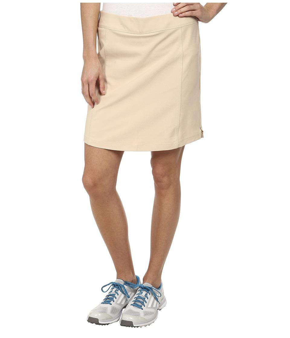 adidas Golf adistar PULL ON SKORT Lite Khaki Womens Skort