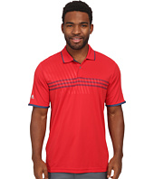 adidas Golf - CLIMACHILL® 3 Stripe Deboss Polo