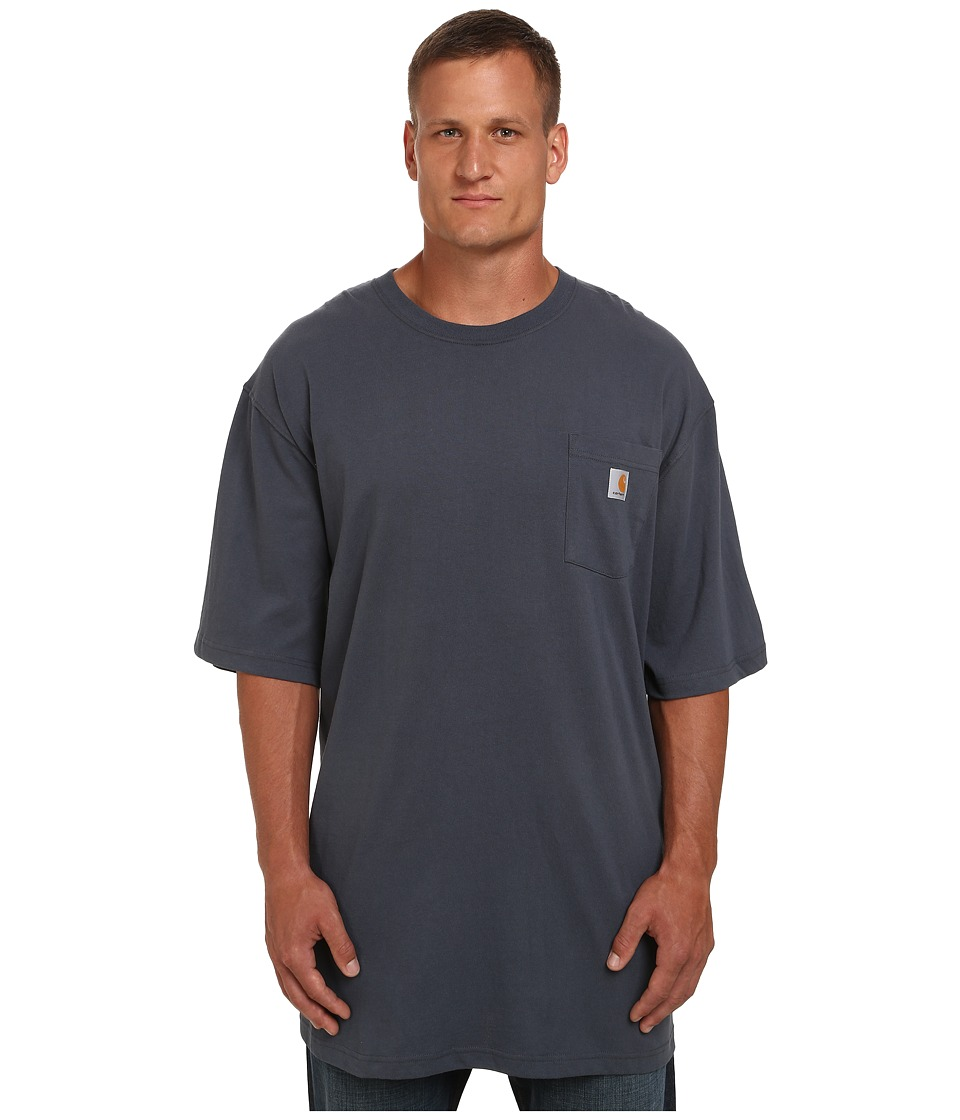 Carhartt Big Tall Workwear Pocket S/S Tee (Bluestone) Men...