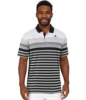 adidas Golf - CLIMACOOL® Birdseye Stripe Jacquard Polo