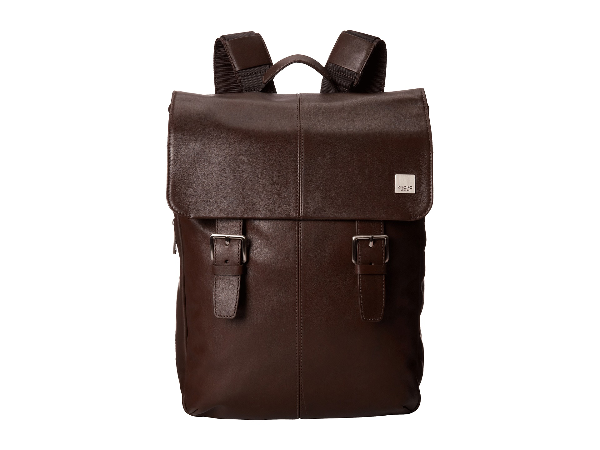 KNOMO London Hudson Leather Laptop Backpack  Zappos.com Free Shipping