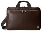 KNOMO London - Newbury Leather Laptop Briefcase