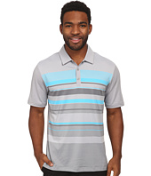 adidas Golf - CLIMACOOL® Sport Performance Stripe Polo