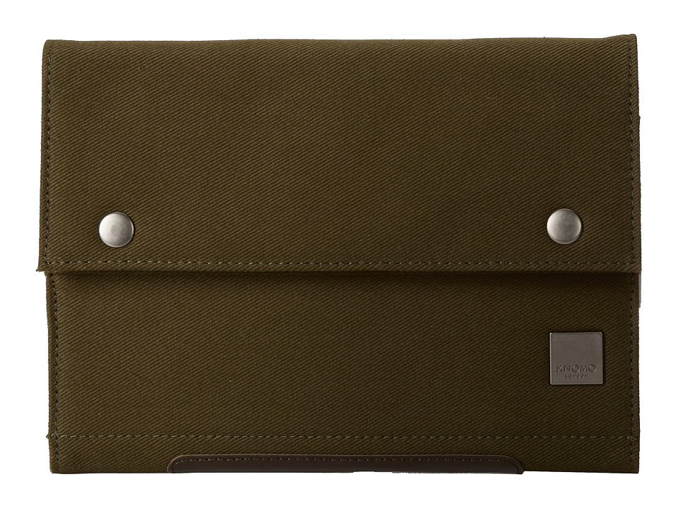 KNOMO London - Knomad Mini Portable Organiser (Olive Green) Wallet
