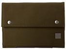 KNOMO London Knomad Mini Portable Organiser (Olive Green)
