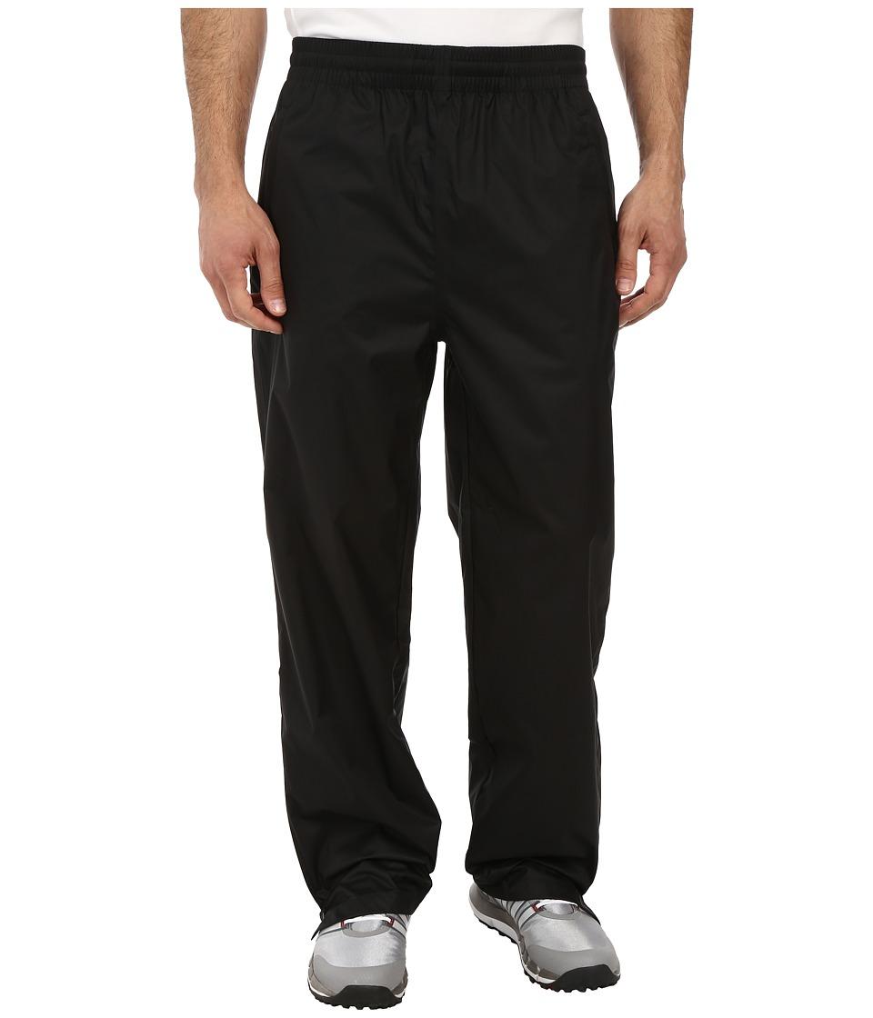 adidas Golf CLIMASTORM Essential Packable Rain Pant Black Mens Casual Pants