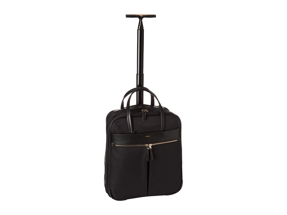 KNOMO London - Burlington N/S Laptop Trolley (Black) Computer Bags