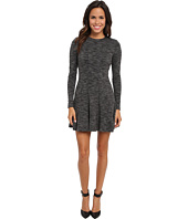 Nicole Miller - Amber Heathered Flare Dress