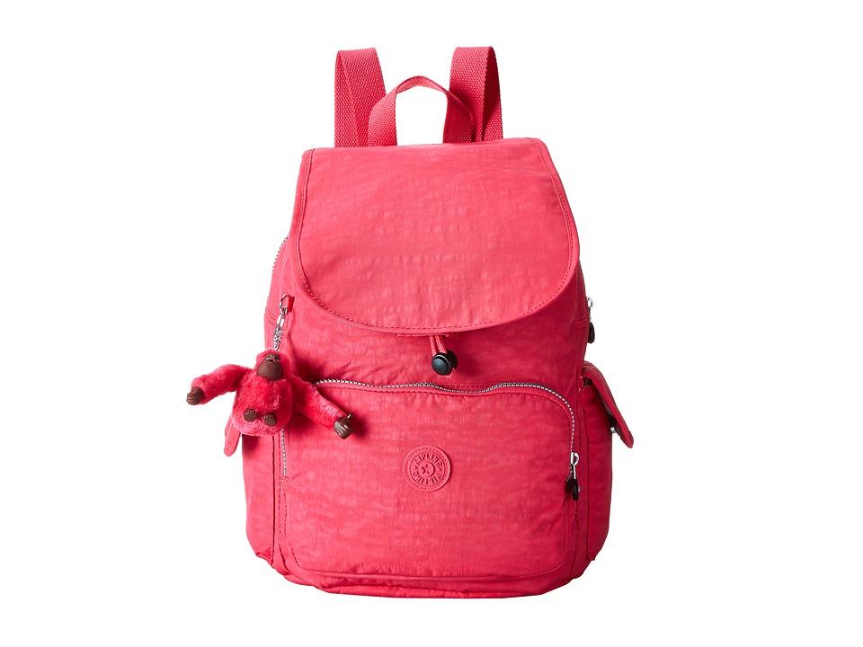 Kipling Ravier Backpack Vibrant Pink Backpack Bags