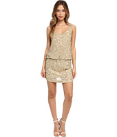 Nicole Miller - Seashell Sequin Blouson Dress