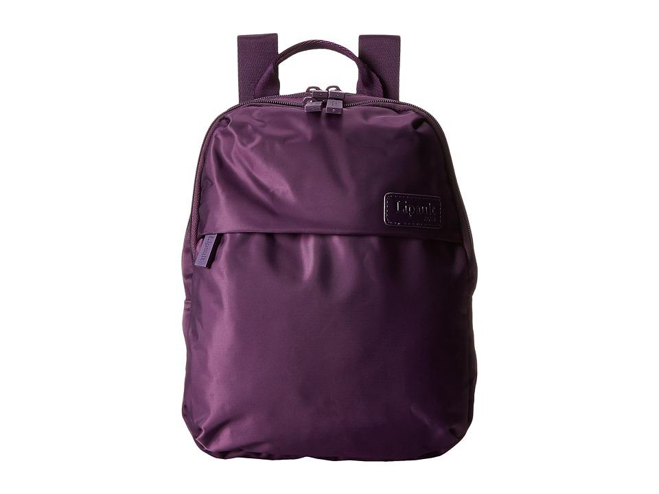 Lipault Paris Mini Backpack Purple Backpack Bags